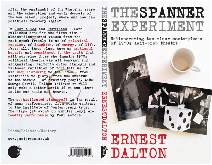 book cover: The Spanner Experiment
