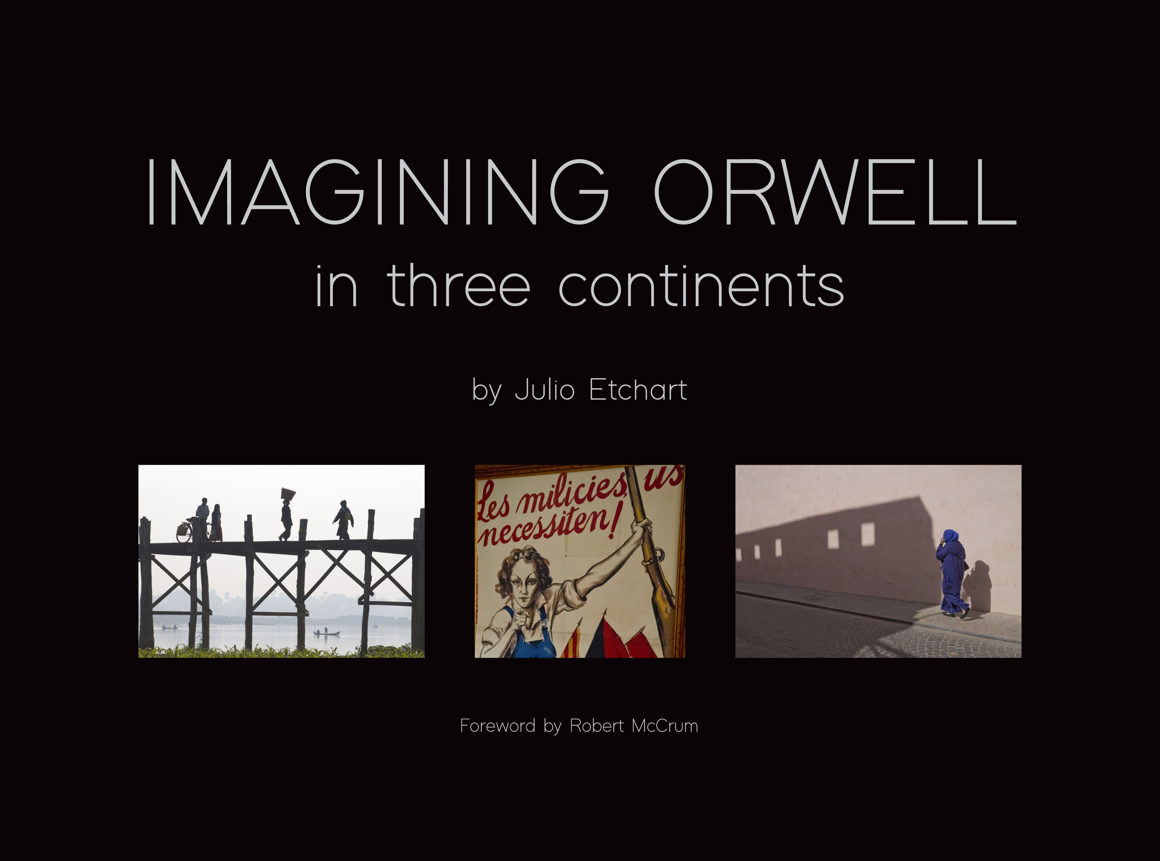 Imagining Orwell book cover