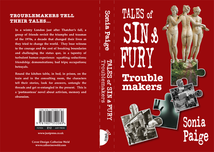 cover of Sin and Fury book